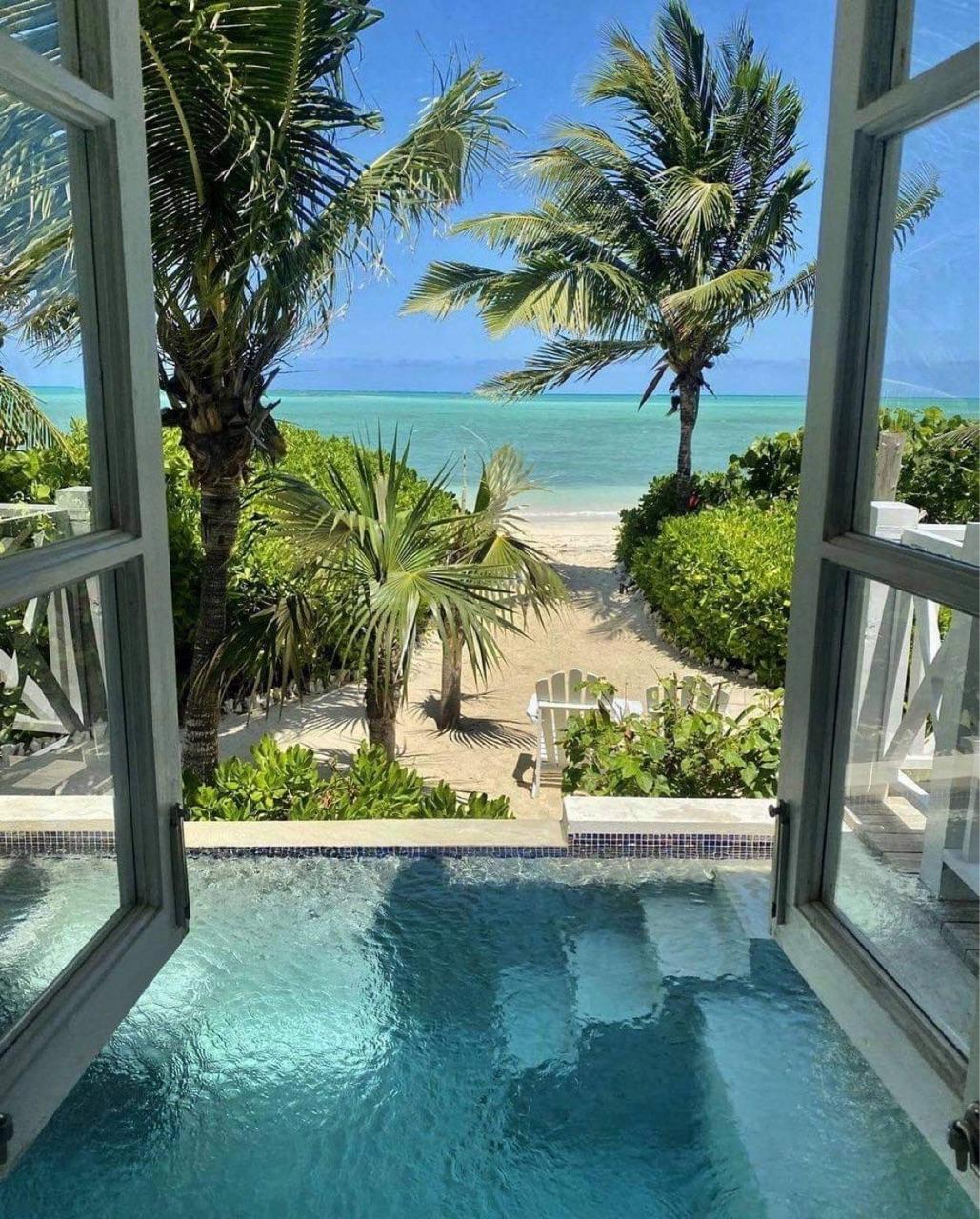 bahamas, beach, and luxury image