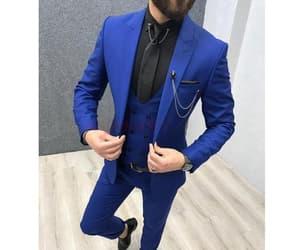 blazer, blue coat, and formal image