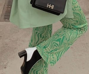 fashion, green, and aesthetic image