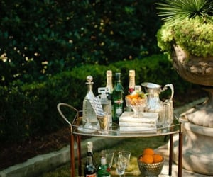 cart, Cocktails, and summer image