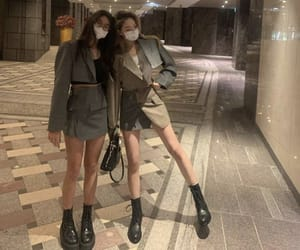 asian, besties, and fashion image