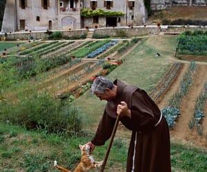 cat, Catholic, and monastery image