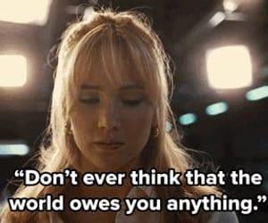 Jennifer Lawrence, joy, and movie quote image
