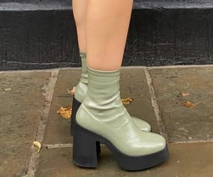 green, aesthetic, and boots image