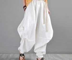 etsy, womens yoga pants, and baggy pants image