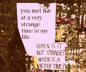 very strange time, no better time, and just walk away! image