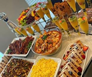breakfast, brunch, and cooking image