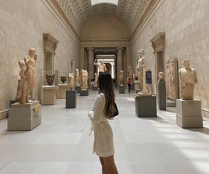 artworks, marble, and museum image