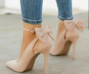 beige, chaussures, and heels image