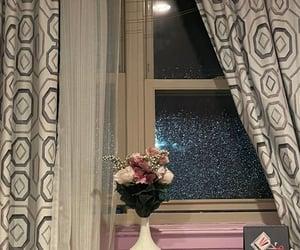 decor, night, and flowers image