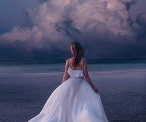 dress and beach image