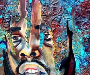 art, earl sweatshirt, and painting image