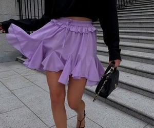 fashion, fashion blog, and lilac image