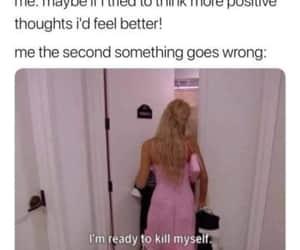 bitchy, girl, and meme image