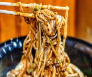 chinese food, nyc, and asian food image