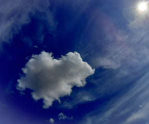 clouds, heaven, and paradise image