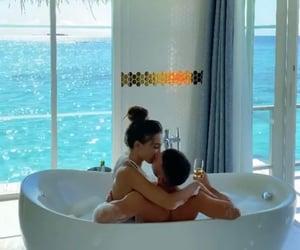 bath, mansion, and love image
