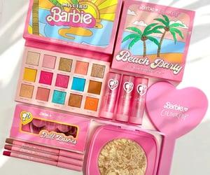 barbie, colourpop, and eyeshadow image