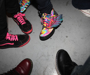 Jeremy Scott and js wings image