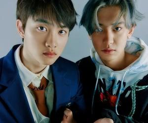 kyungsoo, chansoo, and chanyeol image