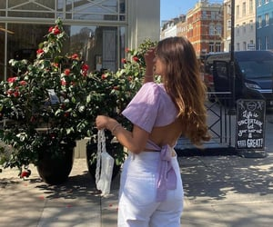 street style, fashion style mode, and white denim jeans image