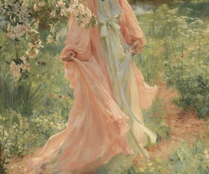 art, pink, and romantic image