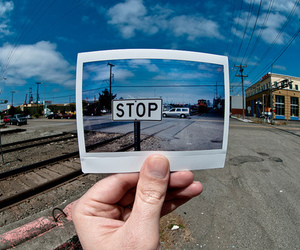 photography and stop image