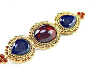 etsy, statement jewelry, and rhinestone brooch image