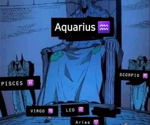 aquarius, funny, and king image