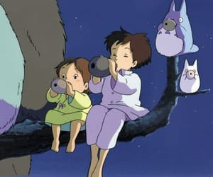 anime, Hayao Miyazaki, and my neighbour totoro image