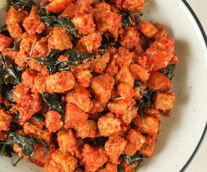basil, indonesian food, and chilli image