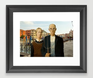 american gothic, home decor, and venice image