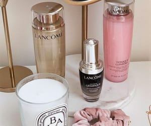beauty, candle, and cosmetics image