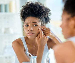 clear skin, beauty tips, and get rid of blackheads image