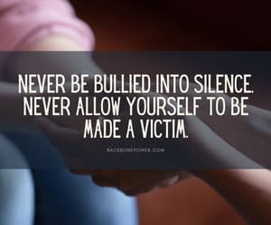 bully, bullying, and backbone power image