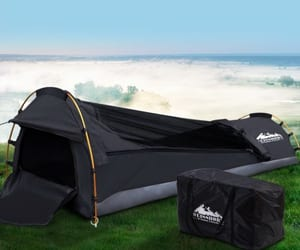 swag, swag tent, and camping gear image