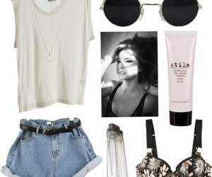 fashion, bra, and outfit image