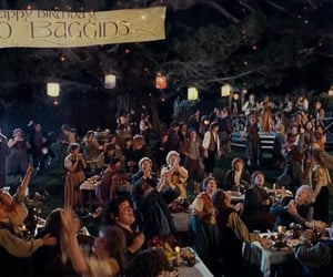 fandom, lord of the rings, and bilbo baggins image