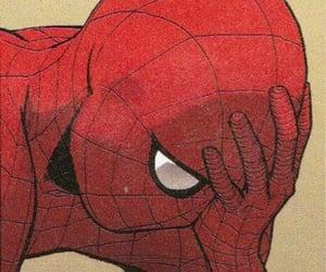 hero, red, and comics image
