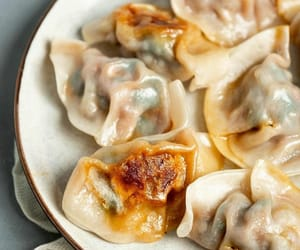 chinese food, dumpling, and nyc image