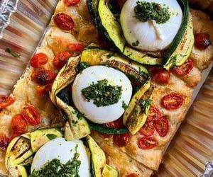 nyc, pizza, and zucchini image