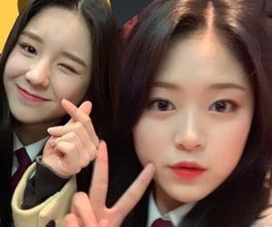 heejin, loona 1 3, and hyunjin image