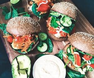 vegan, vegetarian, and food image