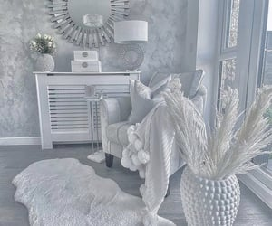 decoration, gray, and grey image