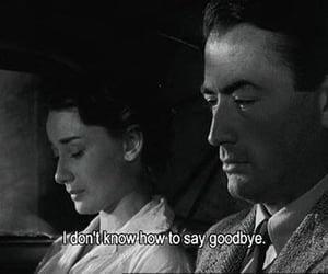audrey hepburn, goodbye, and quotes image
