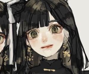 catgirl, maid, and anime image