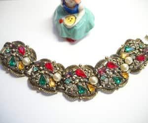etsy, multi colored, and vintage bracelet image