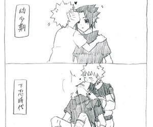 bl, sasuke uchiha, and manga image