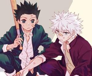 killugon, gon, and anime image