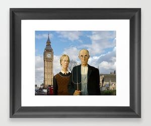 american gothic, Big Ben, and home decor image